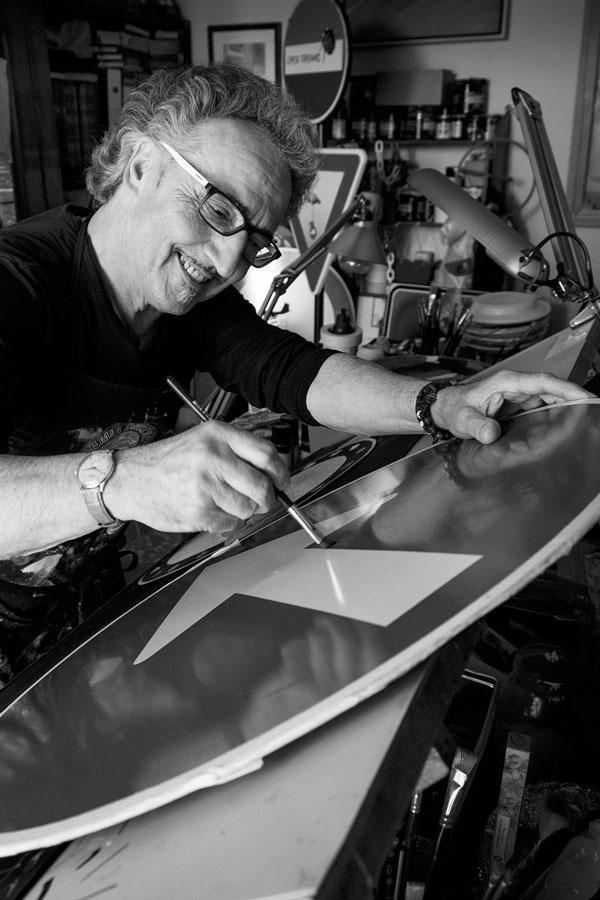 Gianni Gianasso pittore artista Torino biografia